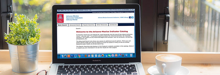 This   online search tool  custom built by EBRC, allows you to search the AZMEX archive of articles and publications by keyword, author, and date.